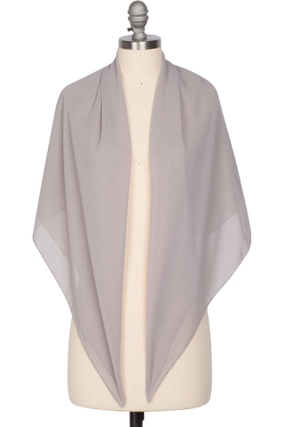 Perfect Everyday Hijab - Smoke Grey