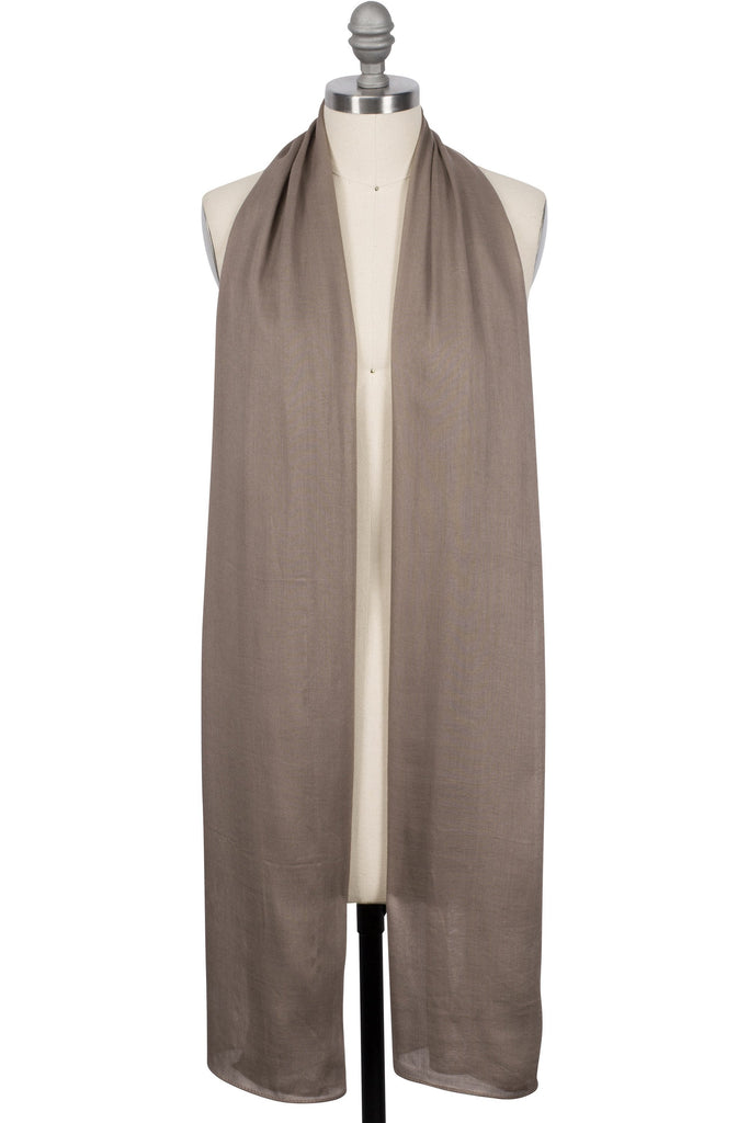 Solid Hijabs - Viscose Woven Hijab - Taupe