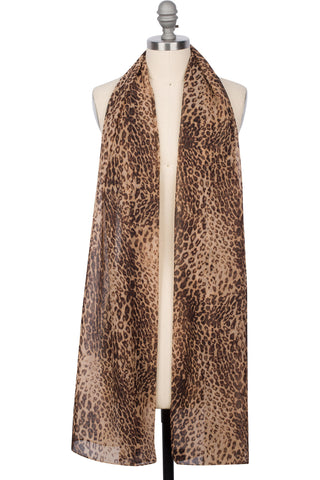London Leopard Wrap