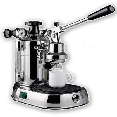 La Pavoni Professional Chrome Espresso Machine PC-16