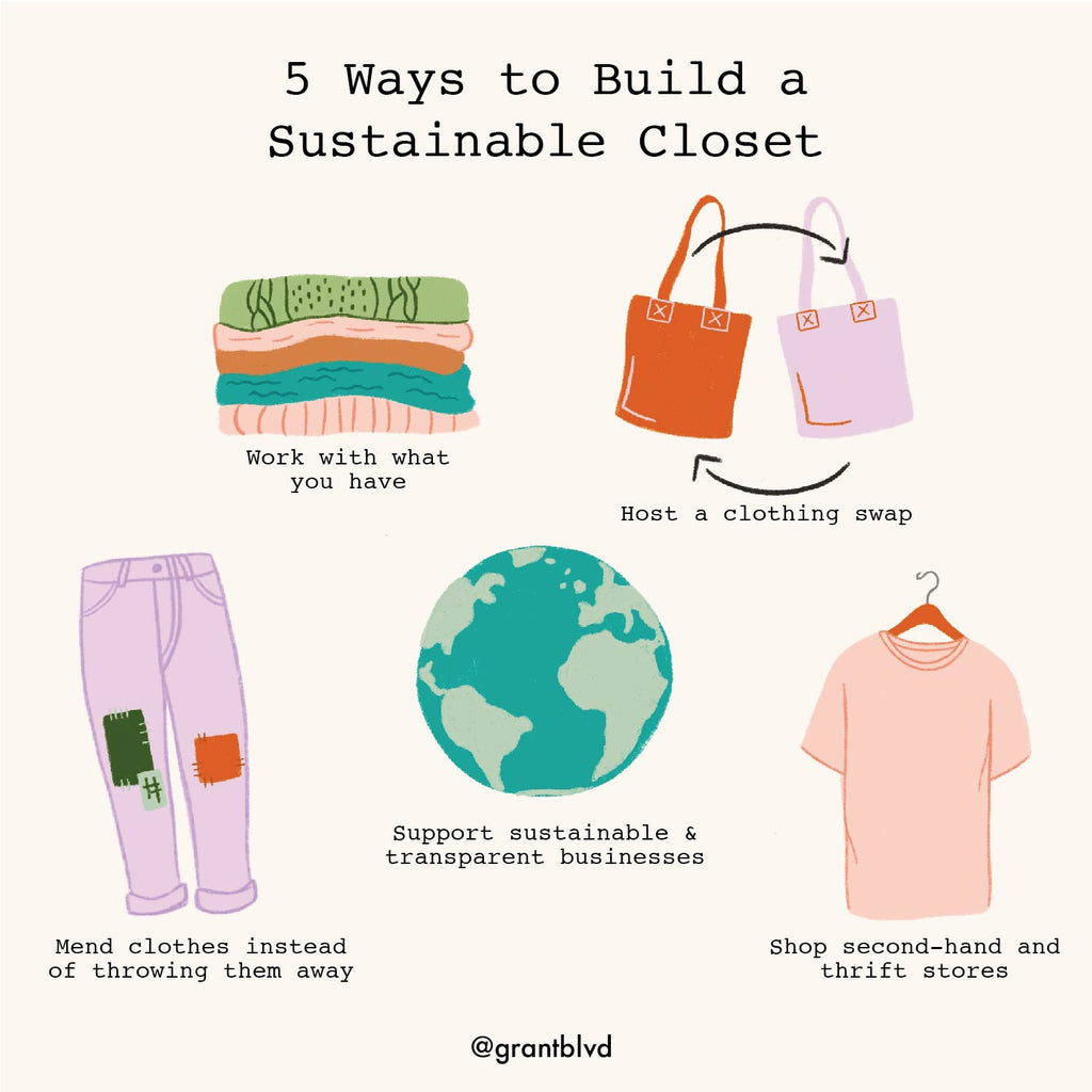 5 Ways To Build a Sustainable Closet