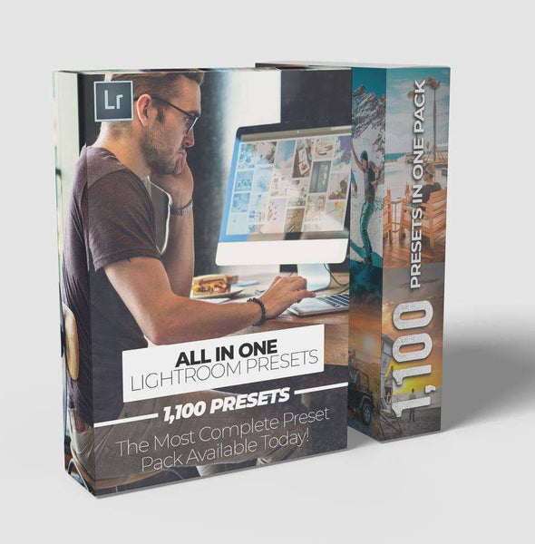 "Just Wander Lightroom Presets The ""All IN ONE"" Pack"