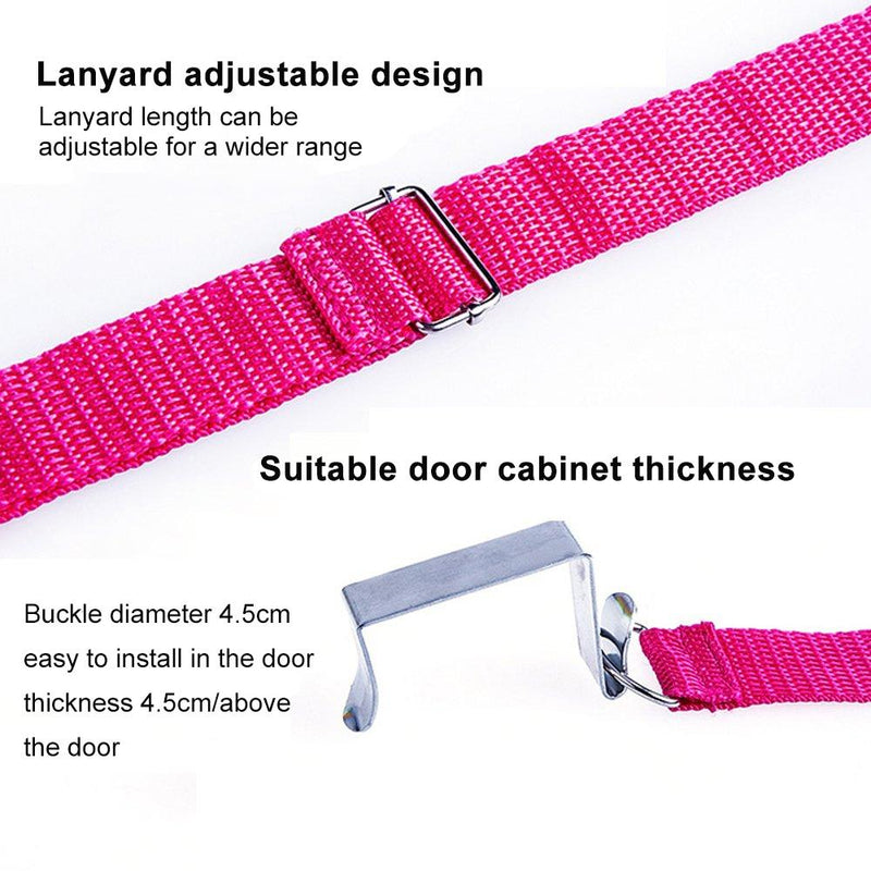 The Multi-Function Carrying Strap Over The Door