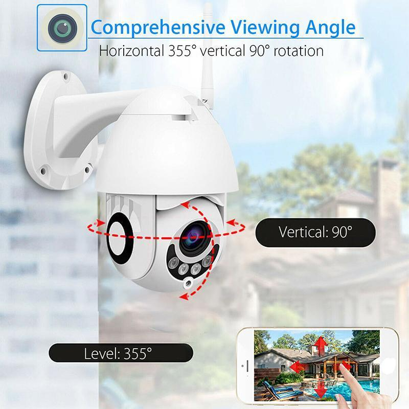 Outdoor WiFi Camera Waterproof & Dustproof