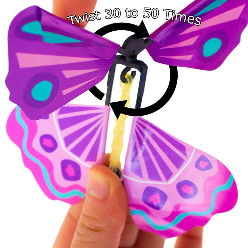 Creative Magic Props Children's Toys Flying Butterflies (Pre-sale)