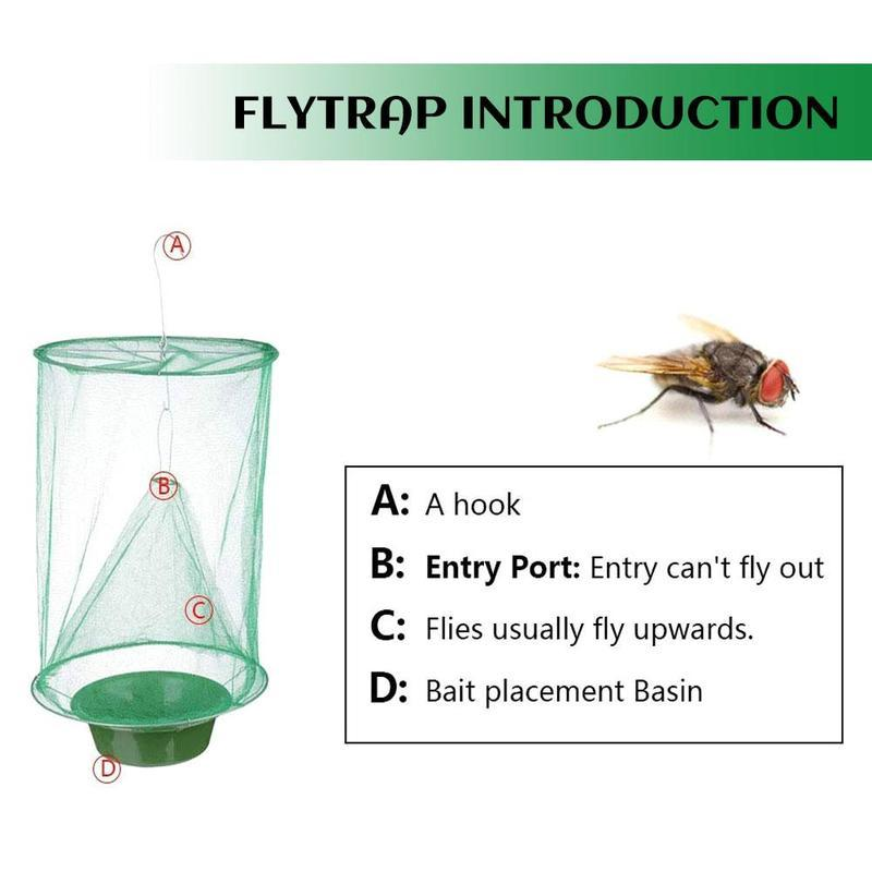 Fly Catcher for Indoor or Outdoor