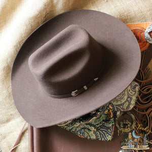 Goin' To Town Brown Felt Hat