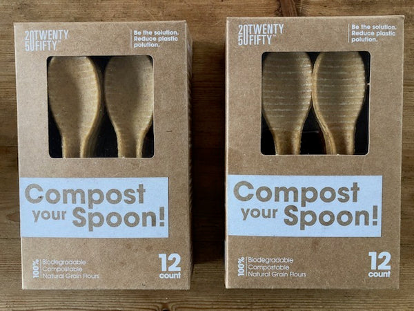 24 COMPOSTABLE SPOONS