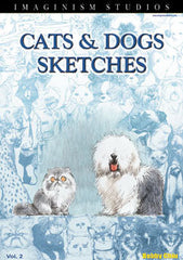 Cats And Dogs Sketches