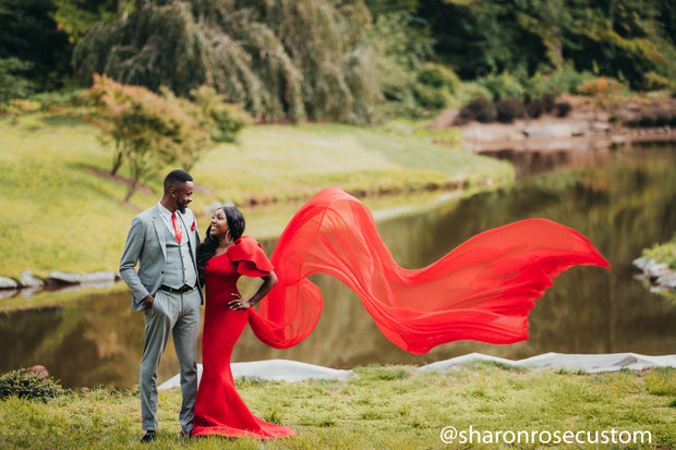 Red Tulip Engagement Dress