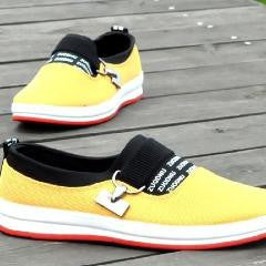 Tri Color Tennis Sneakers