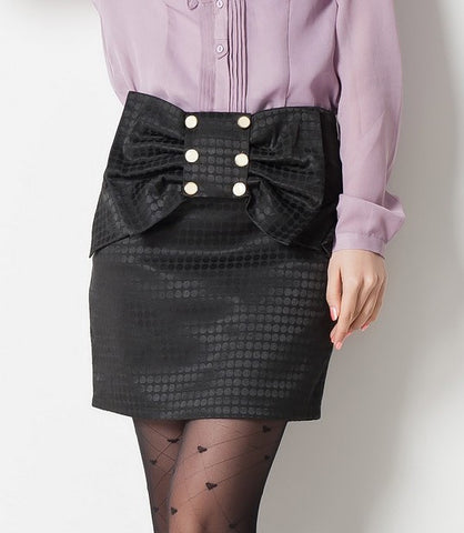 Over Sized Bow Skirt