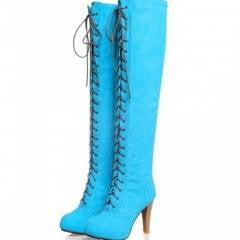 Sweet Over Knee High Heel Boots