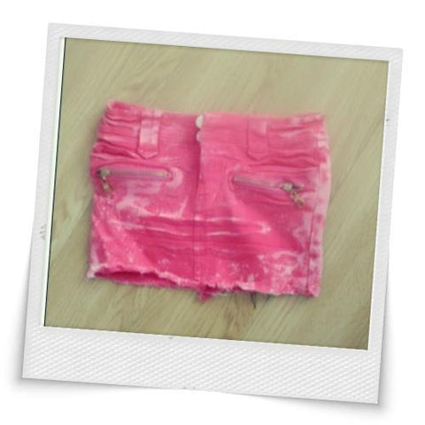 New Pink Jean Skirt ^_^