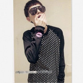 Long Sleeve Dots T-Shirt