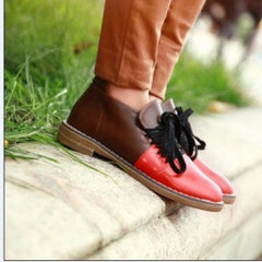 Red Lacing Sneakers