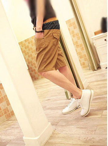 Denim/Khaki Short Pants