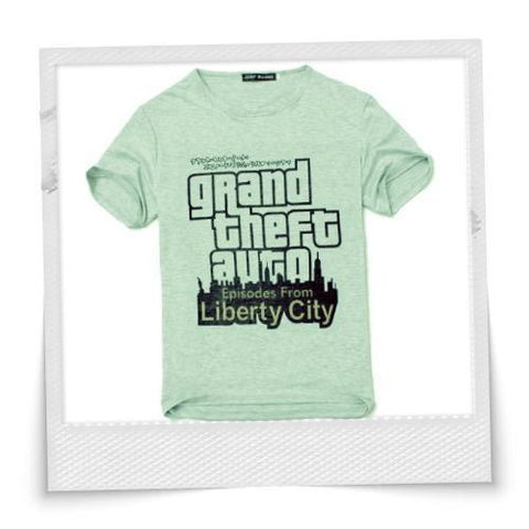 Grand Theft Auto Cotton T-Shirt