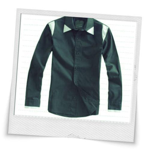 Trendy Design Single-breasted Shirt