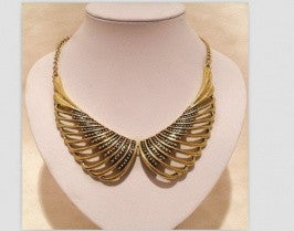 Wing Bronze Necklace