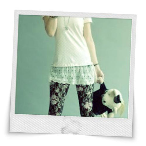 Rose Mix Lace Base Pant