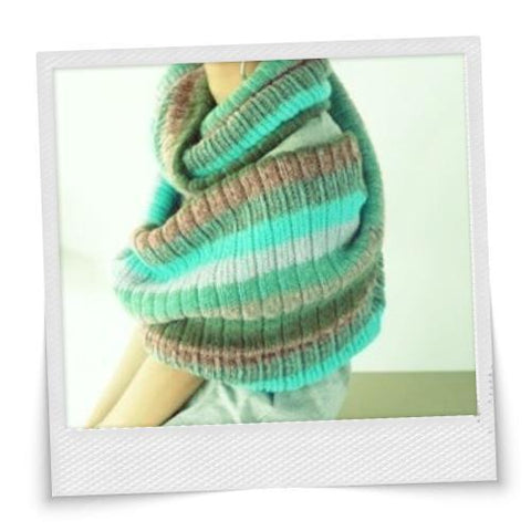 Stripe Colorful Scarf