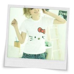 Hello Kitty Printed Short Sleeve T-shirt