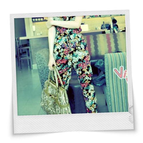 Cutesy Floral Jumpsuit