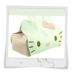 Hello Kitty with Bottom Elastics Napkin Box