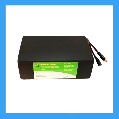 36V, 10Ah LFP Battery (PVC, BLF-3610A)