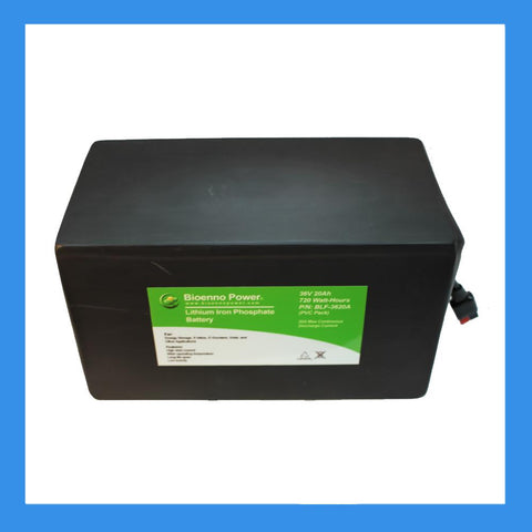 36V, 20Ah LFP Battery (PVC, BLF-3620A)