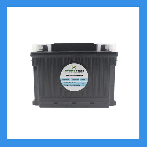 12V, 1000 CCA LFP Starter Battery, (ABS, BLP-301000M)