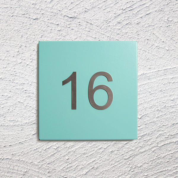 miami steel house number plate christmas contemporary door