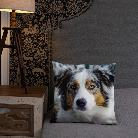 Beautiful Australian Shepherd 18x18 Pillow - Doggsociety