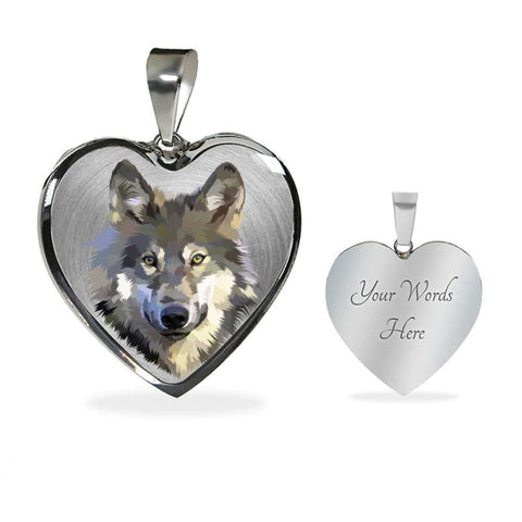 Beautiful Wolf Head Necklace - Doggsociety
