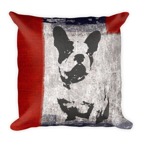 Image of Boston Terrier Art 18x18 Pillow - Doggsociety