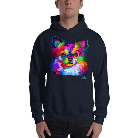 Colorful Chihuahua Pop Art Style Hoodie - Doggsociety