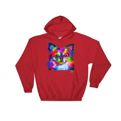 Image of Colorful Chihuahua Pop Art Style Hoodie - Doggsociety