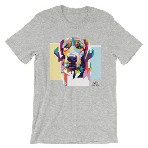 Image of Colorful Dog T-Shirt - Doggsociety
