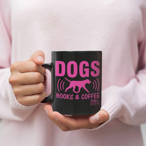 Dogs Books And Coffee Mug