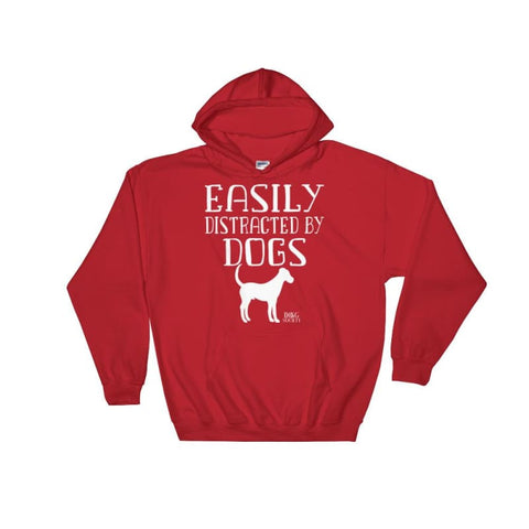 Easily Distracted By Dogs Hoodie - Doggsociety