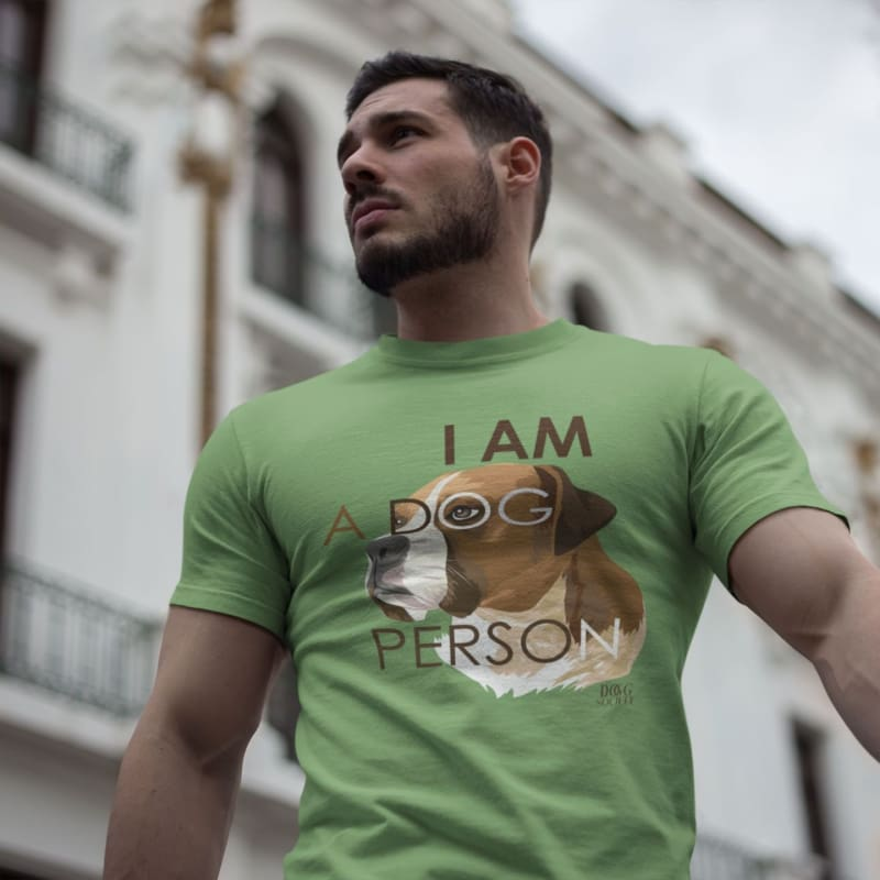 I Am A Dog Person T-Shirt - Doggsociety