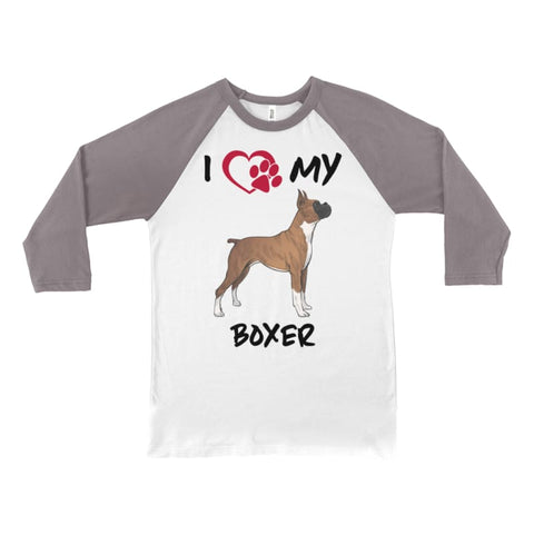 I Love My Boxer Long Sleeve Shirt - Doggsociety
