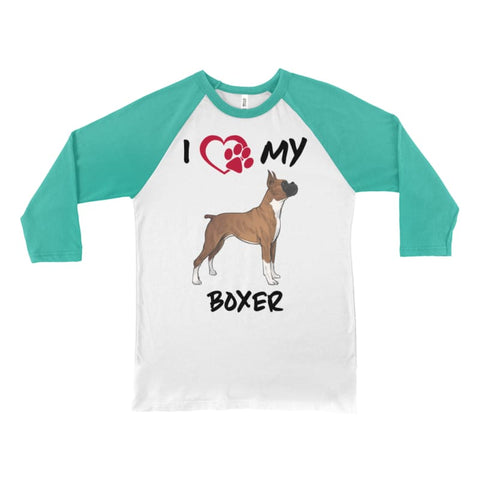 Image of I Love My Boxer Long Sleeve Shirt - Doggsociety