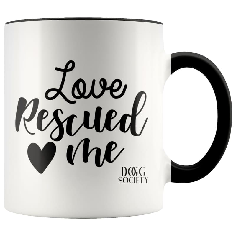 Love Rescued Me Mug - Doggsociety
