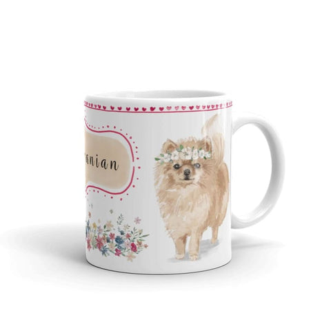 Image of Pomeranian Mug - Doggsociety