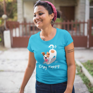 Stay Happy Little Dog T-Shirt
