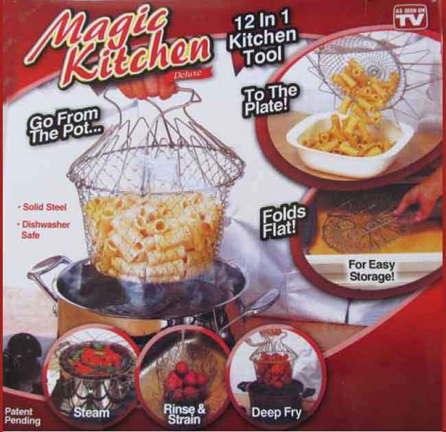 Foldable Magic Kitchen Basket