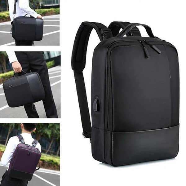 2019 New 3-in-1 Multi-function Anti-theft USB Backpack