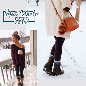 Winter Fleece Lined Stretchy Leggings